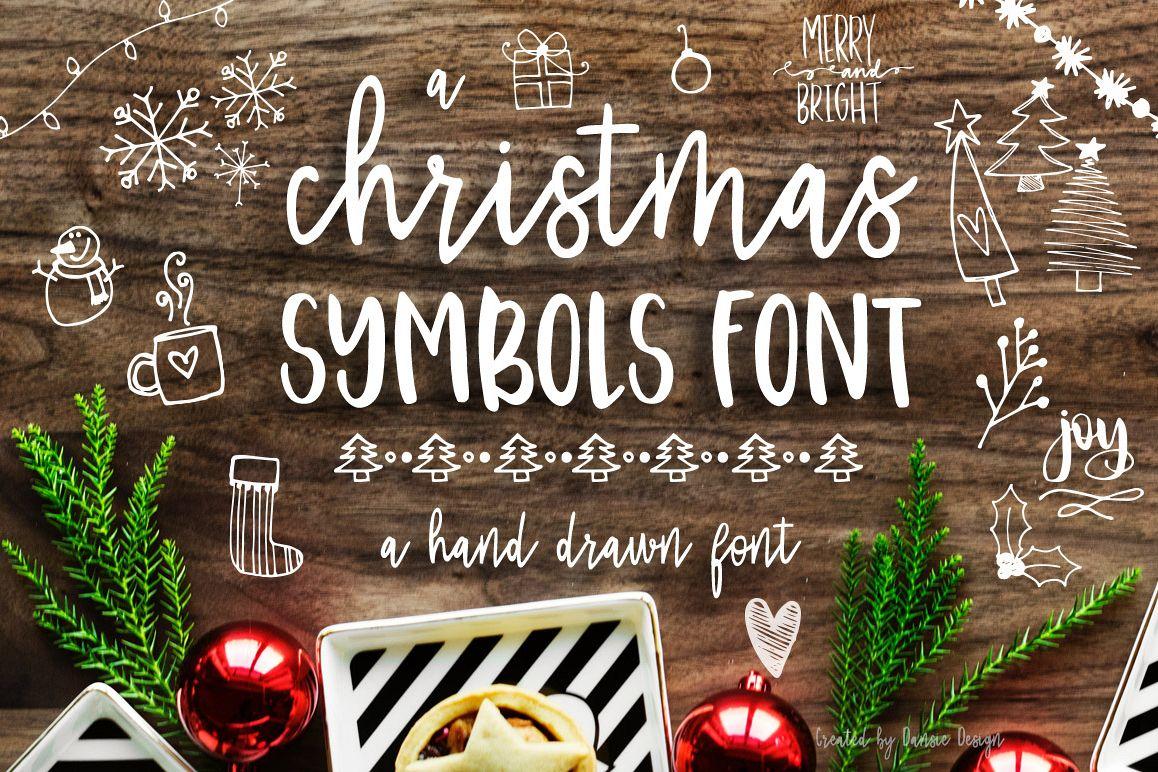 Christmas Symbols Font example image 1