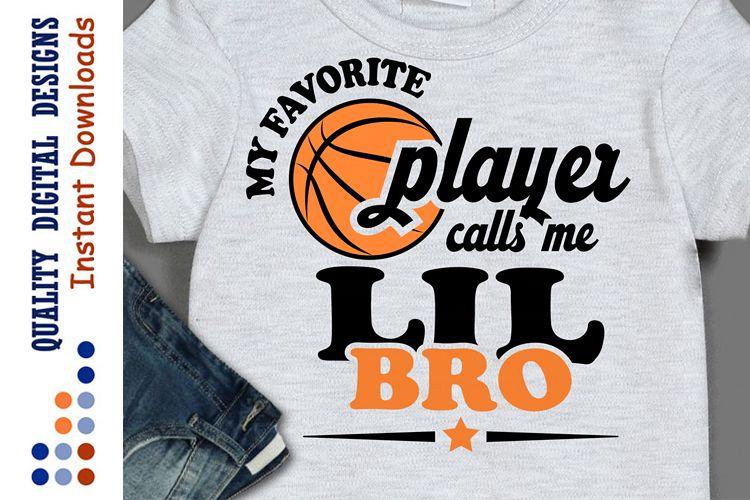 My Favorite basketball player calls me lil bro example image 1