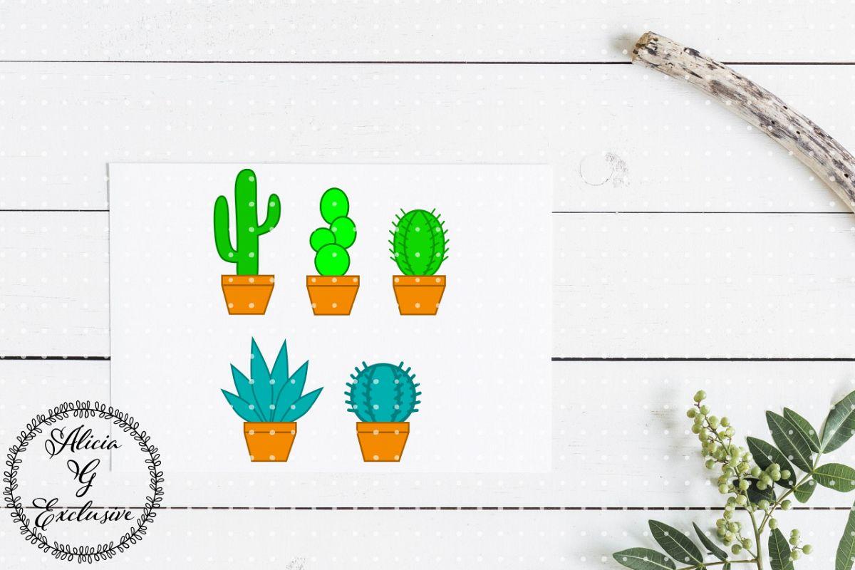 Cactus Set  example image 1