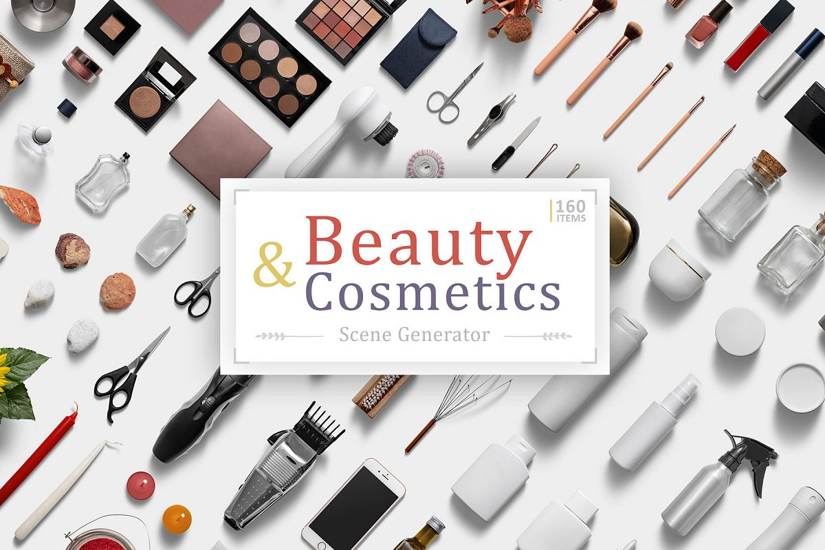 Beauty & Cosmetics Scene Generator example image 1