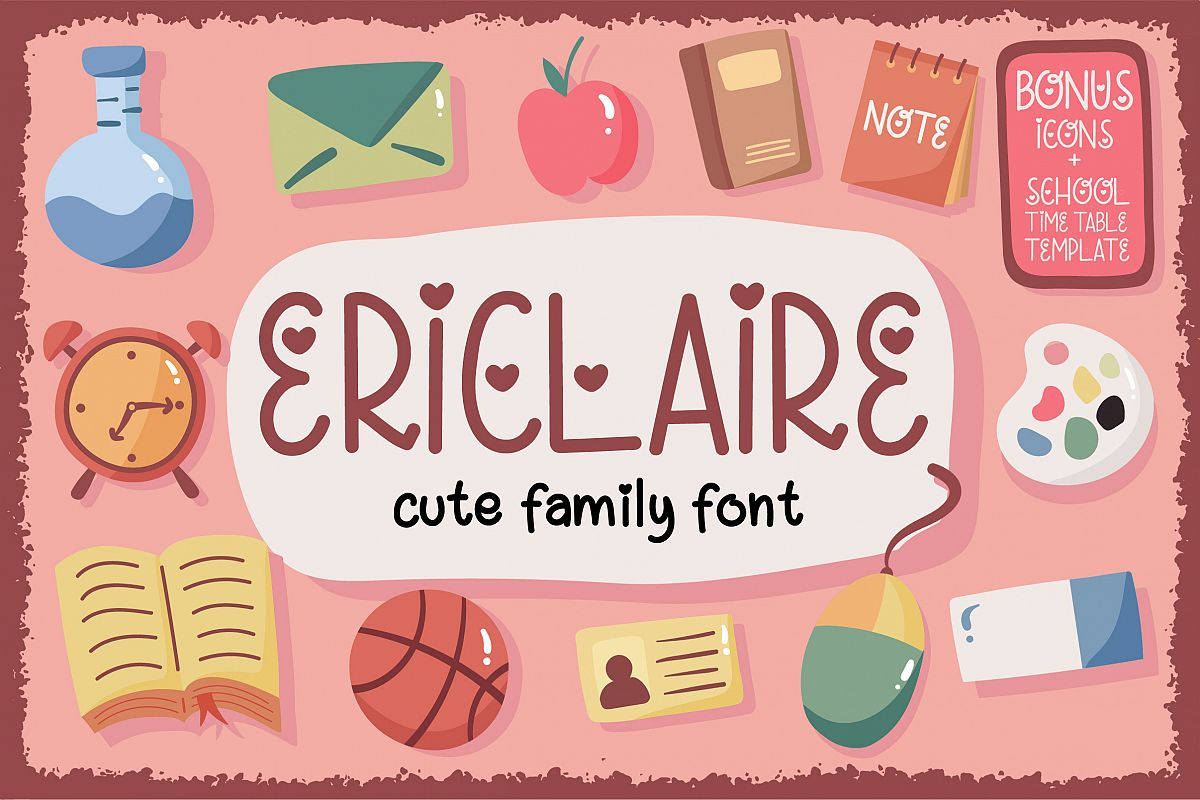 Ericlaire Font example image 1
