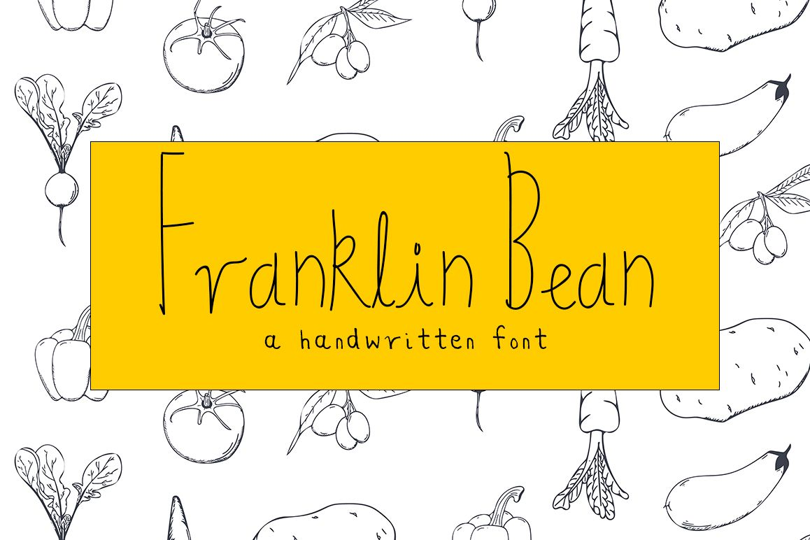 Franklin Bean Font example image 1