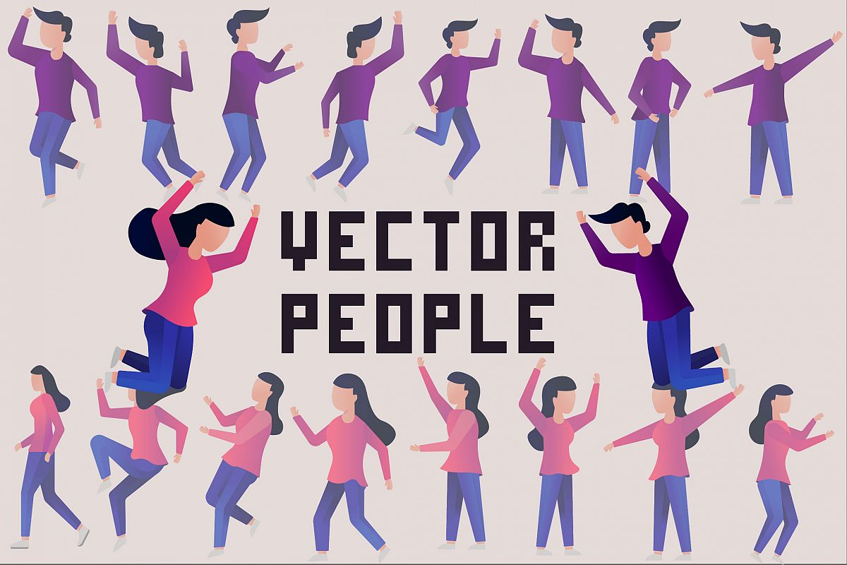 Vector People example image 1