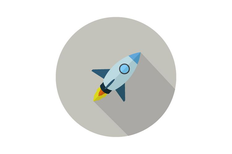 Rocket icon example image 1