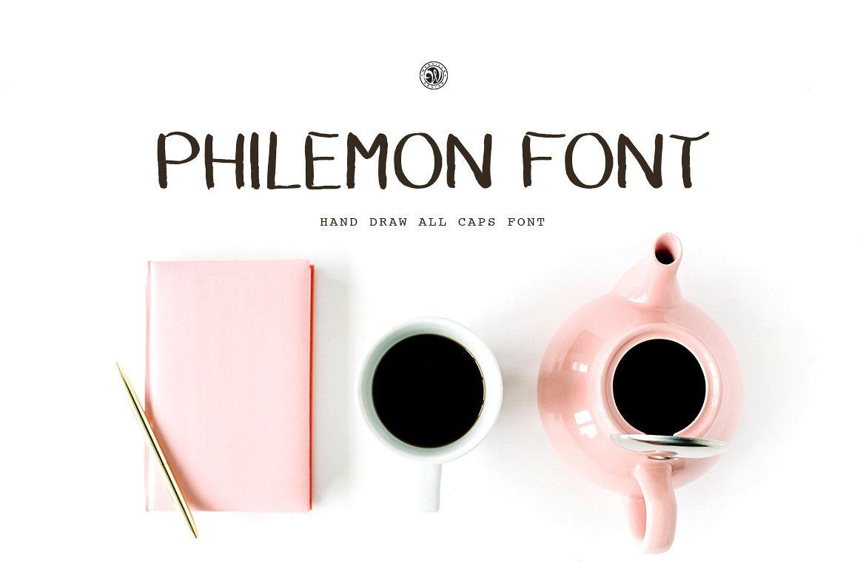 Philemon Font example image 1