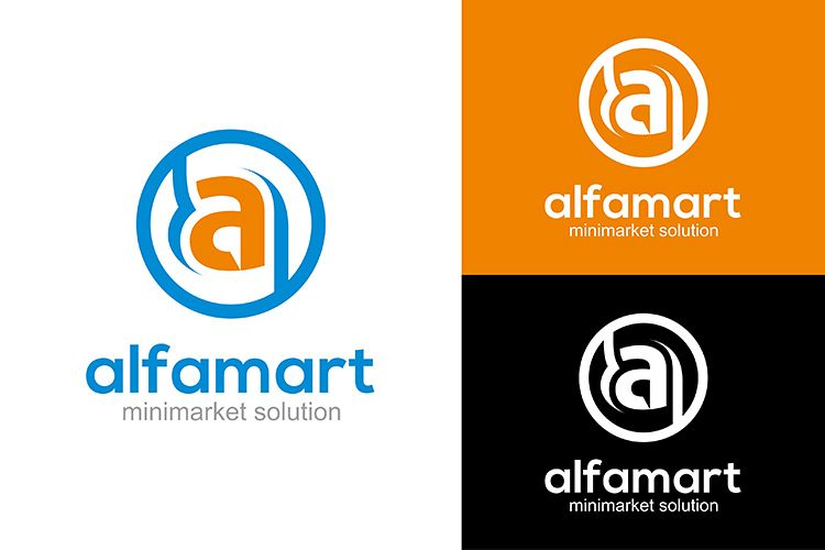 Alfamart Acongraphic Design Bundles Viewing Product Gambar Logo