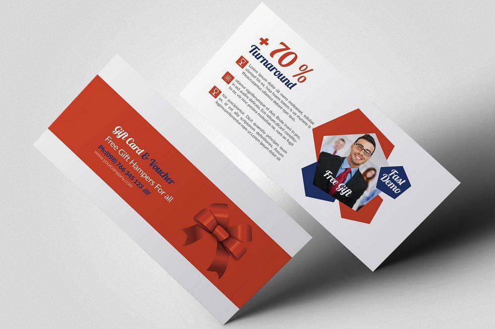 Stylish Business Gift Vouchers example image 1