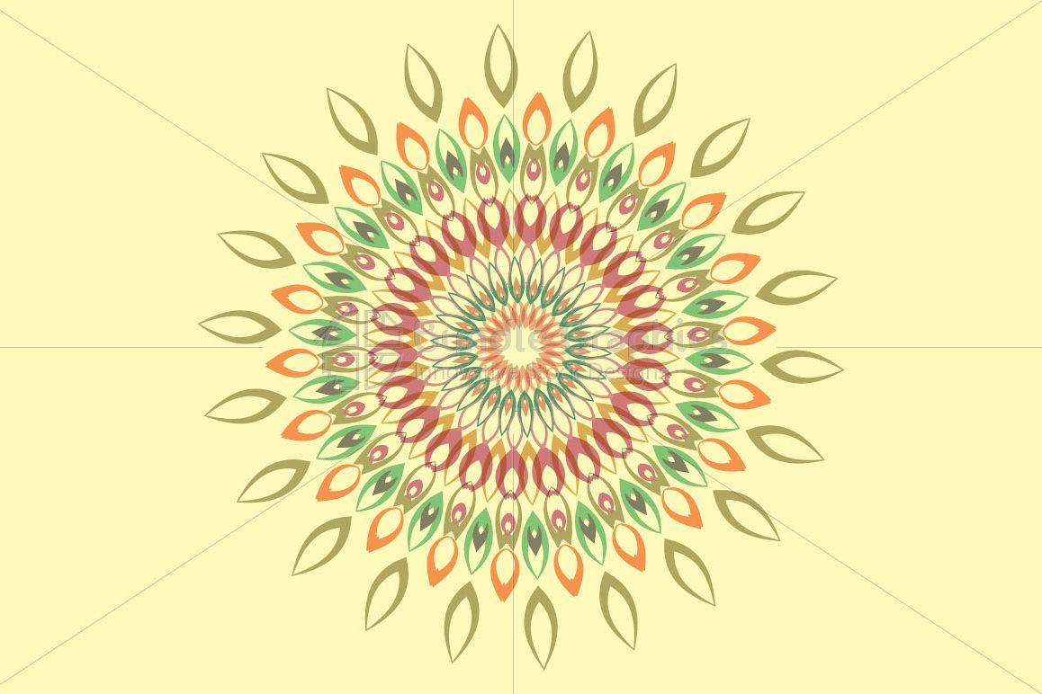 Mandala Graphics - Decorative Art example image 1