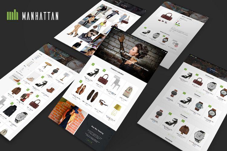 Manhattan Shopify Theme example image 1