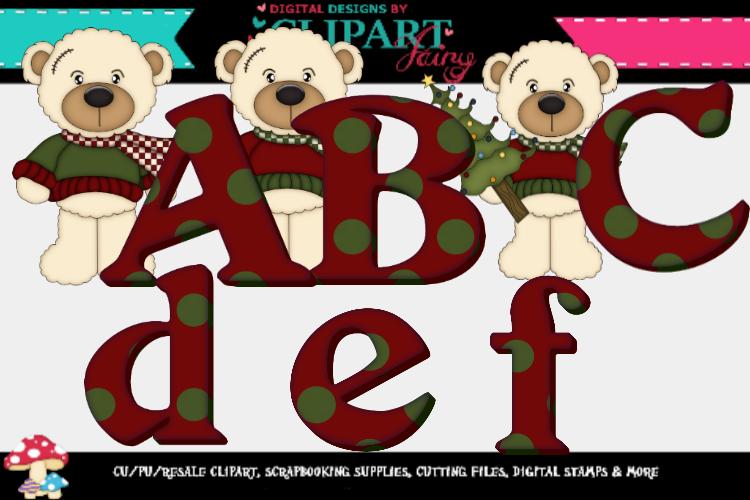 White Bears Christmas Alpha example image 1