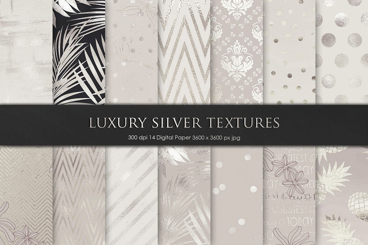 Silver and Grey Texture, Backgrounds example image 1
