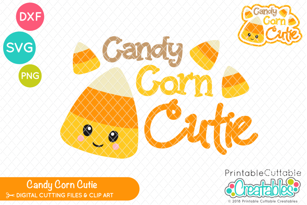 graphic about Printable Cuttable Creatables referred to as Sweet Corn Cutie SVG