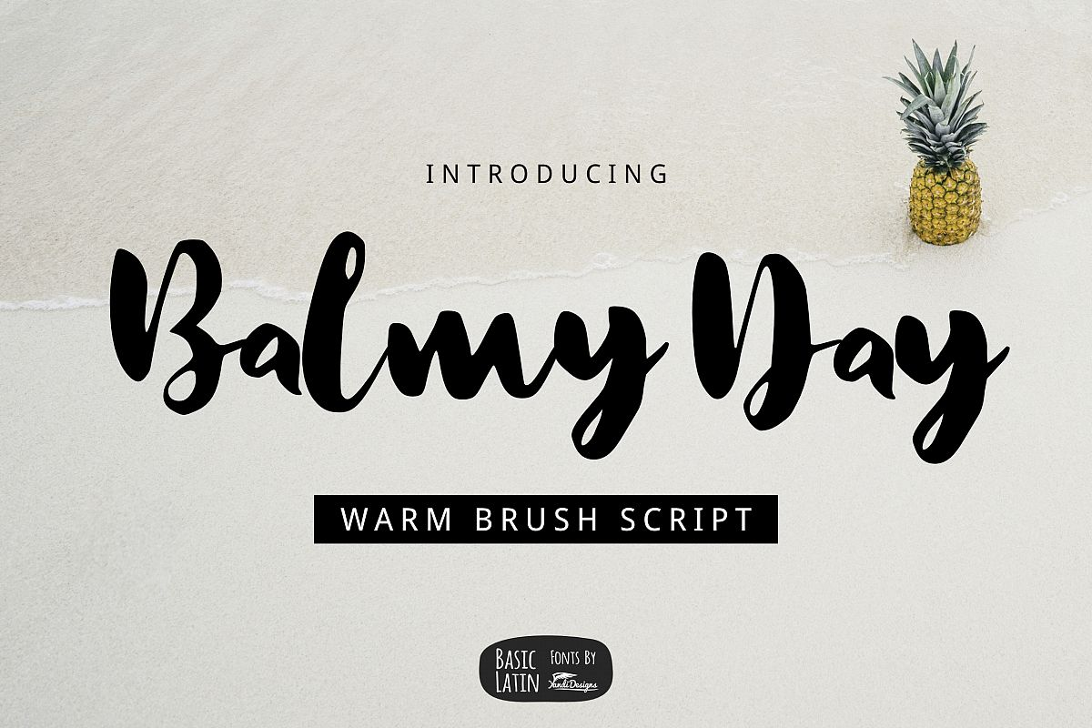 Balmy Day Brush example image 1