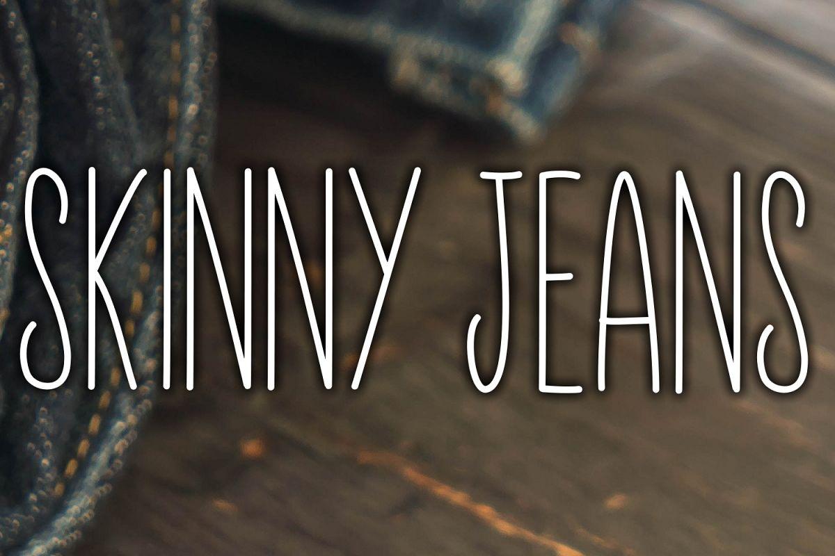 Skinny Jeans + Bonus example image 1