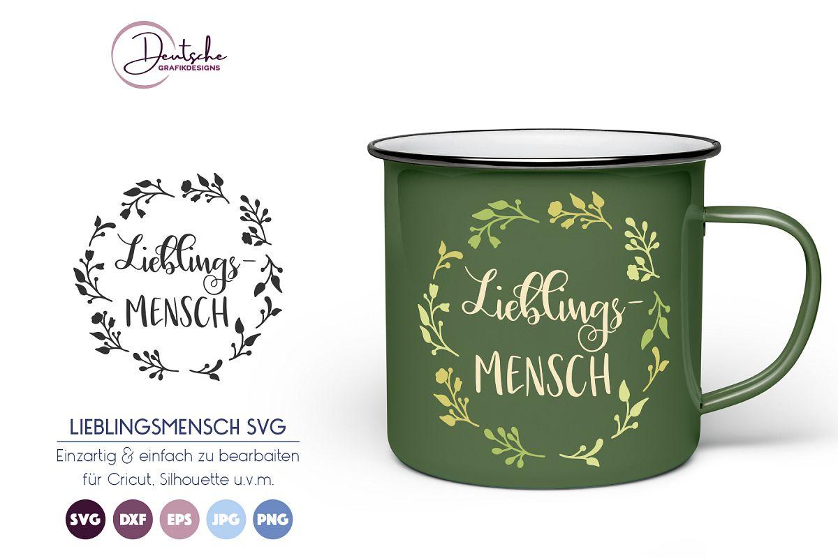 Lieblingsmensch | Garten SVG example image 1