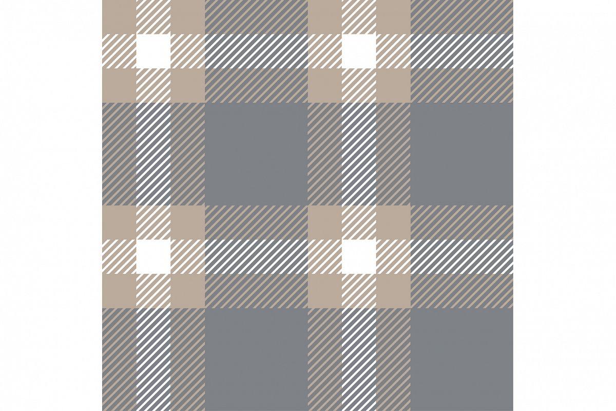 Seamless tartan pattern. example image 1