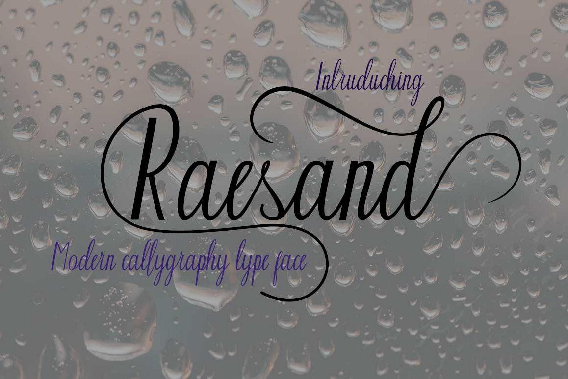 Raesand example image 1