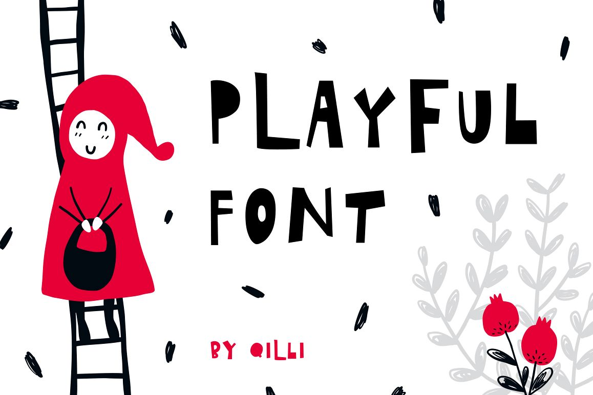 Playful Font - Display Typeface example image 1