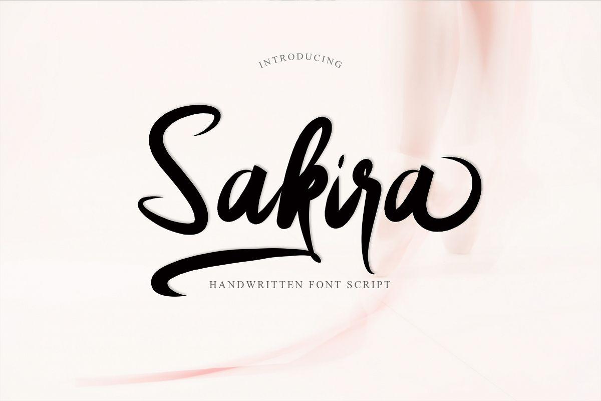 Sakira Script example image 1