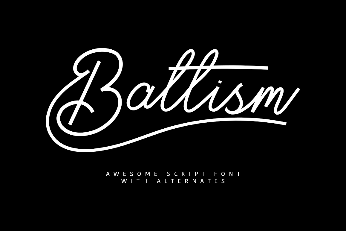 Baltism Typeface example image 1
