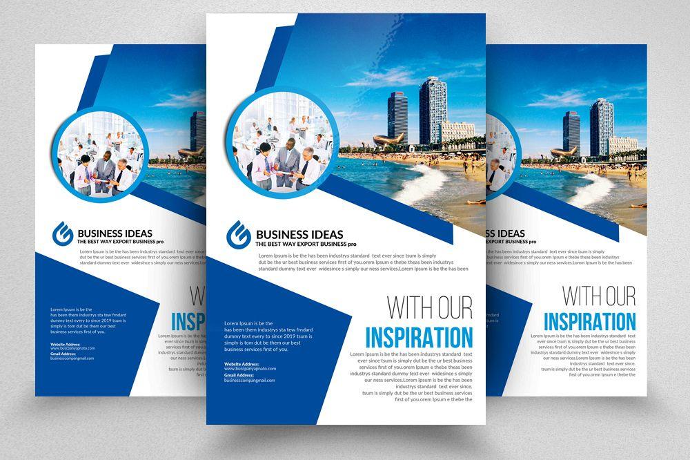 Luxury Real Estate Flyer Template Ad Design Bundles - Real estate brochure template
