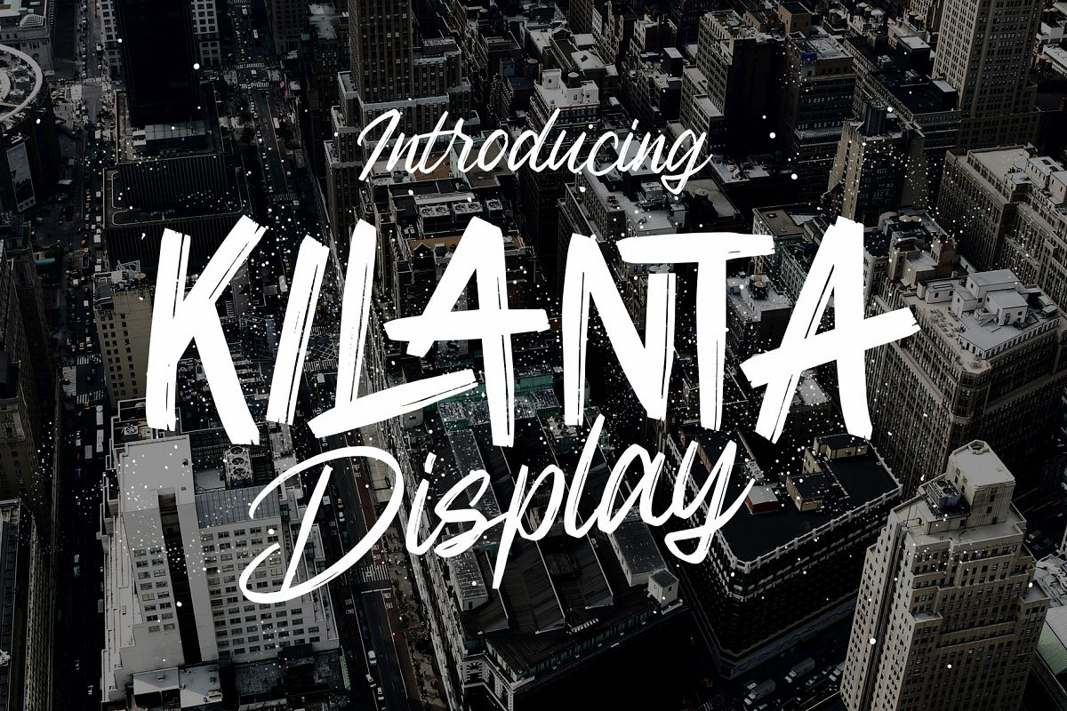 Kilanta Display - Font Duo example image 1