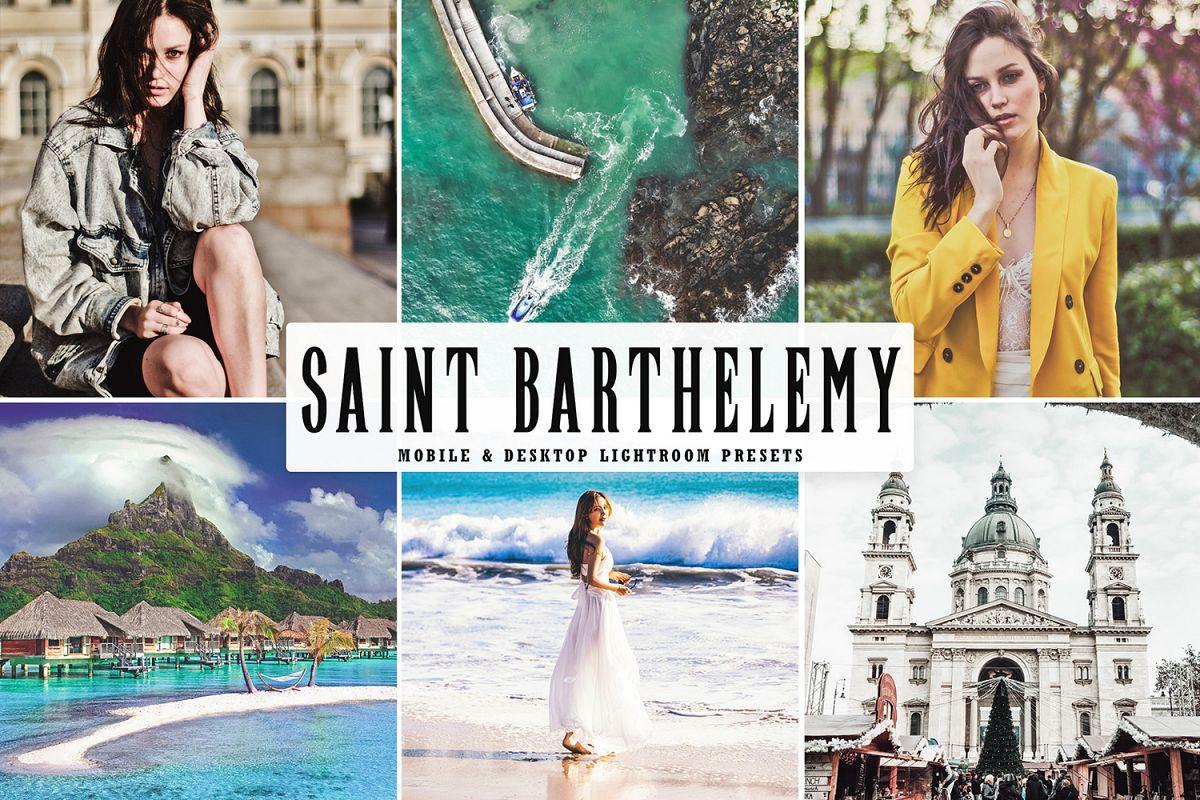 Saint Barthelemy Mobile & Desktop Lightroom Preset example image 1