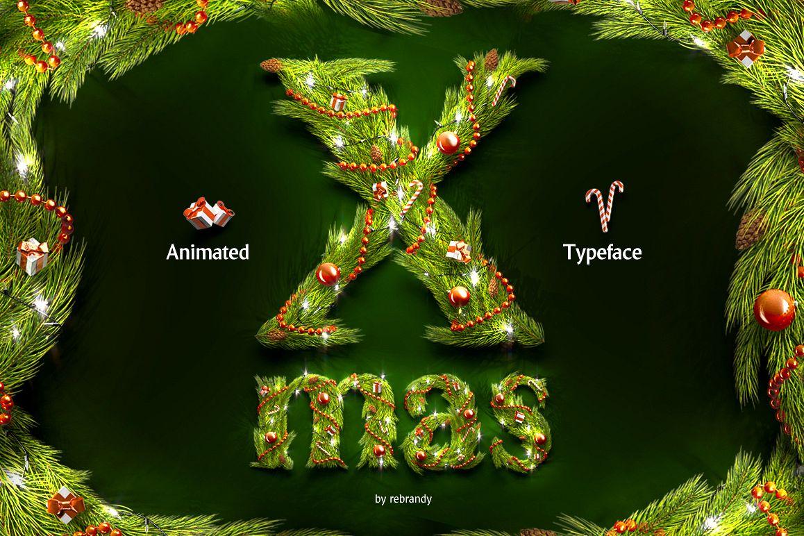 Christmas Animated Typeface example image 1