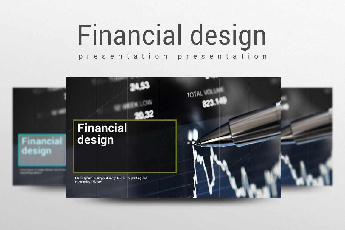 Finance Theme PowerPoint Template example image 1