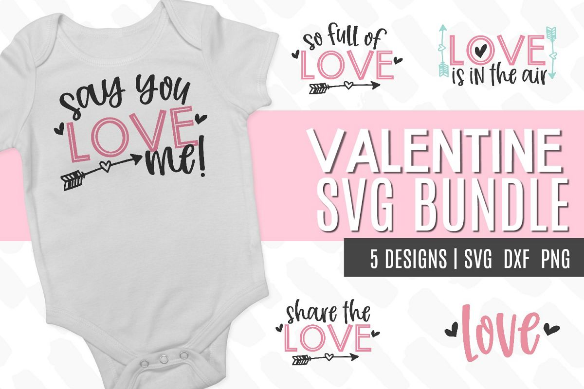 Valentine SVG Bundle example image 1