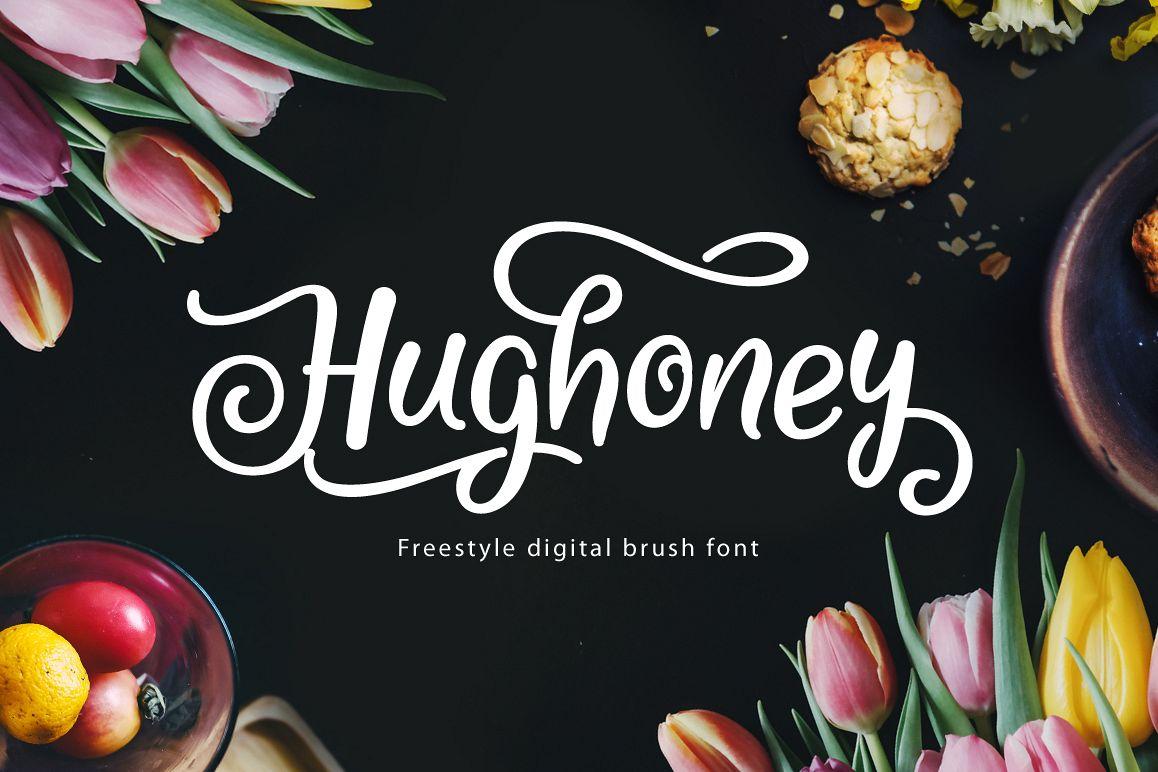 Hughoney Script example image 1