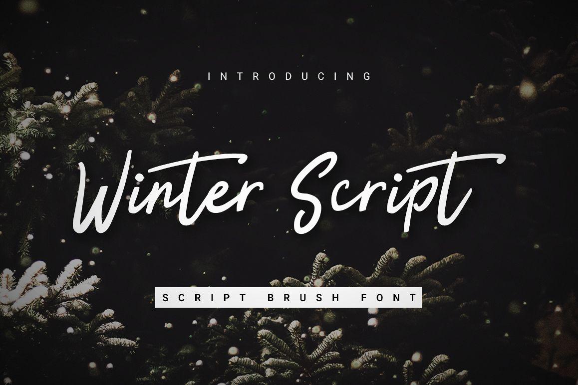 Winter Script example image 1