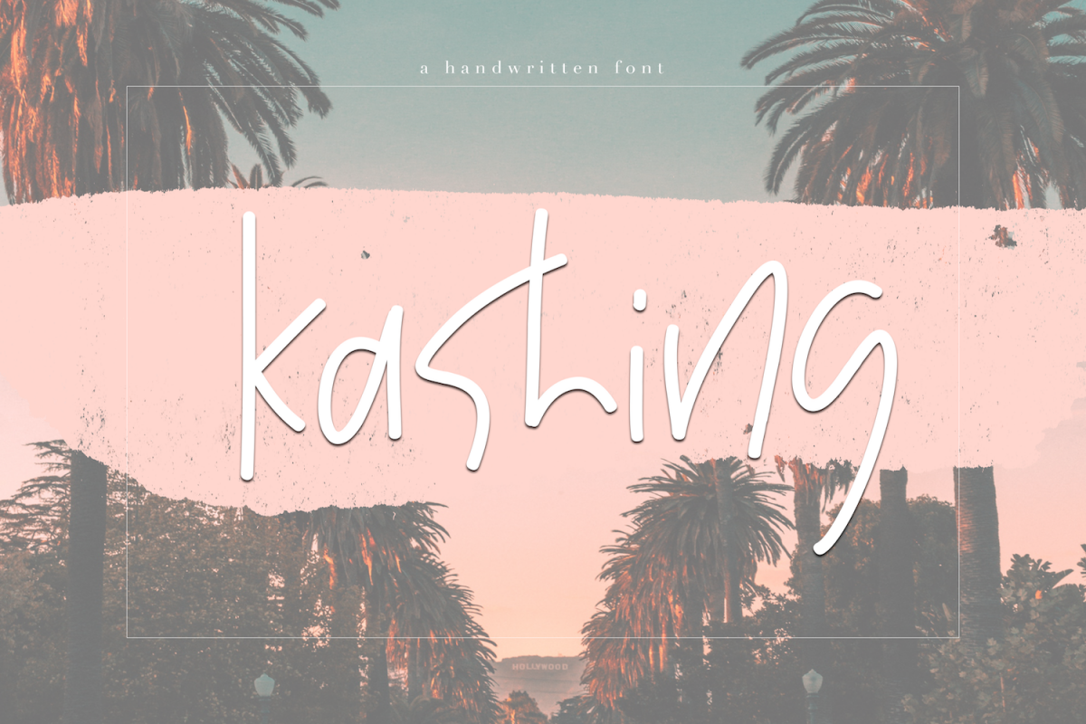 Kashing - A Chic Handwritten Font example image 1