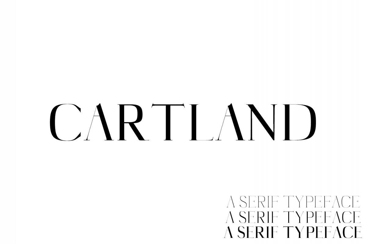 Cartland Serif Typeface example image 1