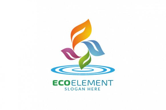 Infinity Green Element Ecology logo example image 1