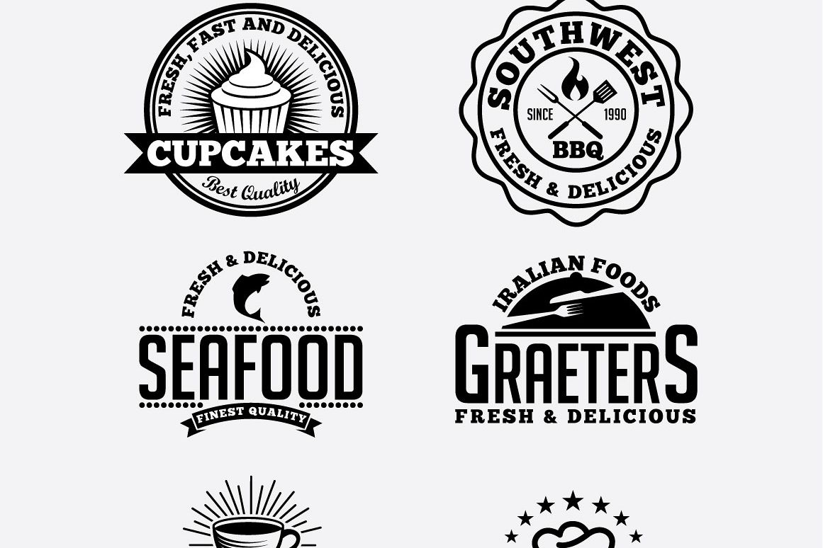 Vintage Labels & Badges example image 1
