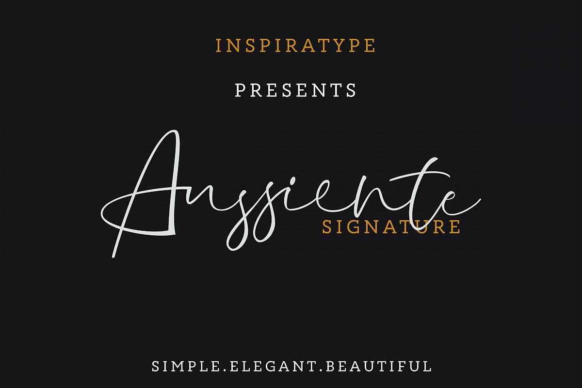 Aussiente Signature - Script example image 1