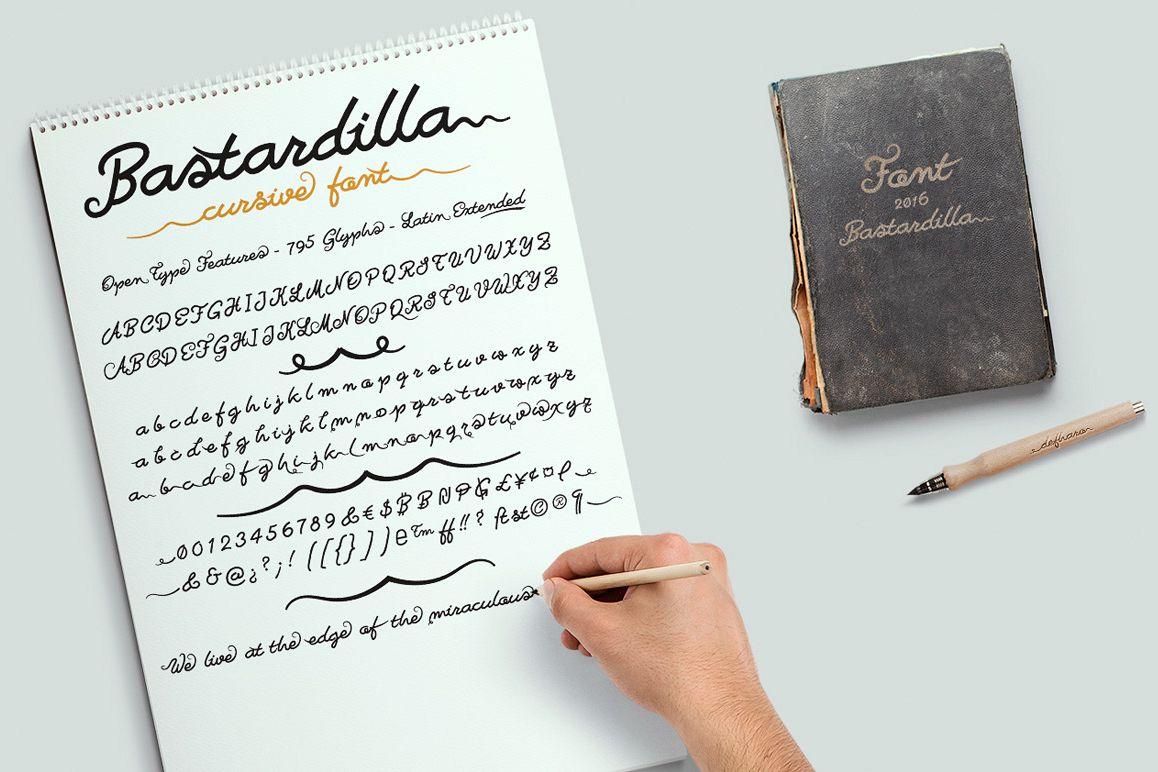 Bastardilla example image 1