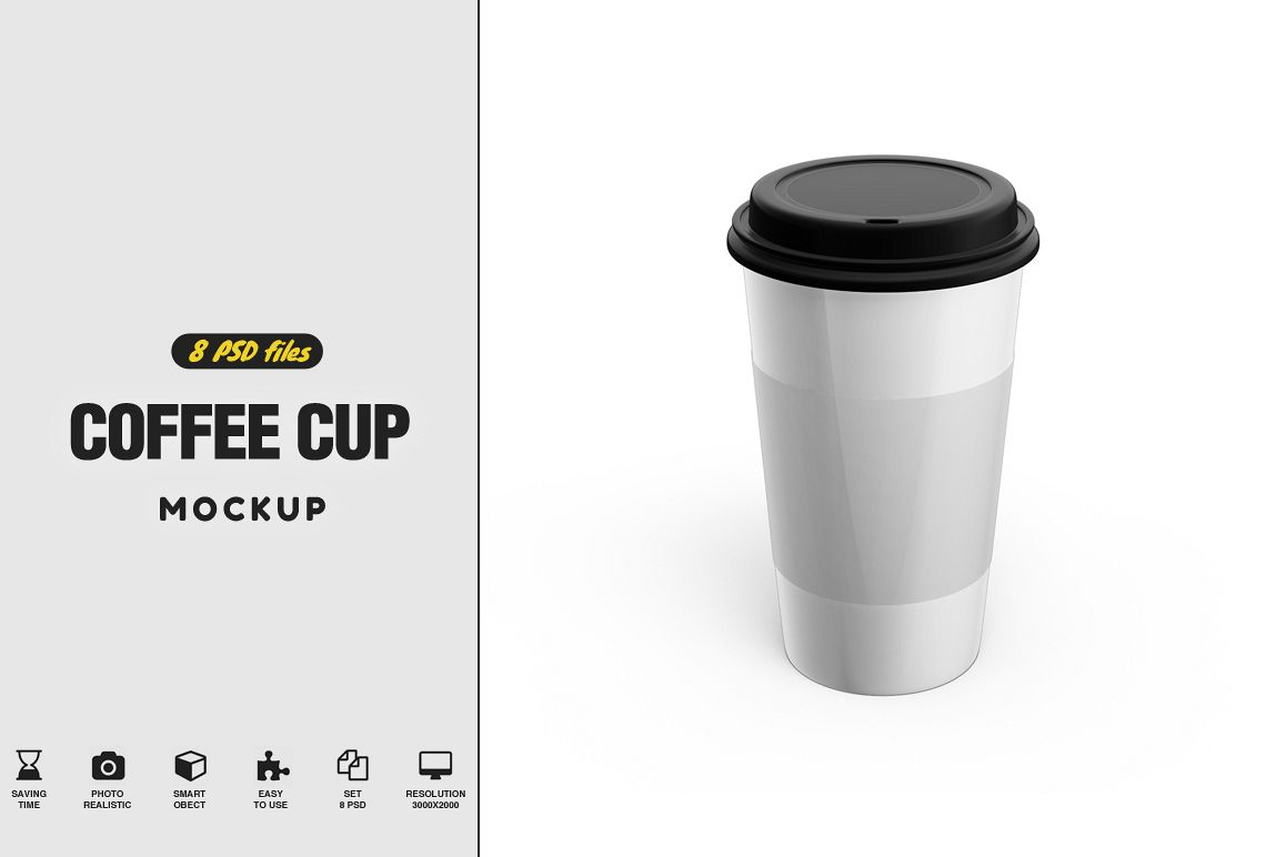 Caffee Cup Mockup example image 1