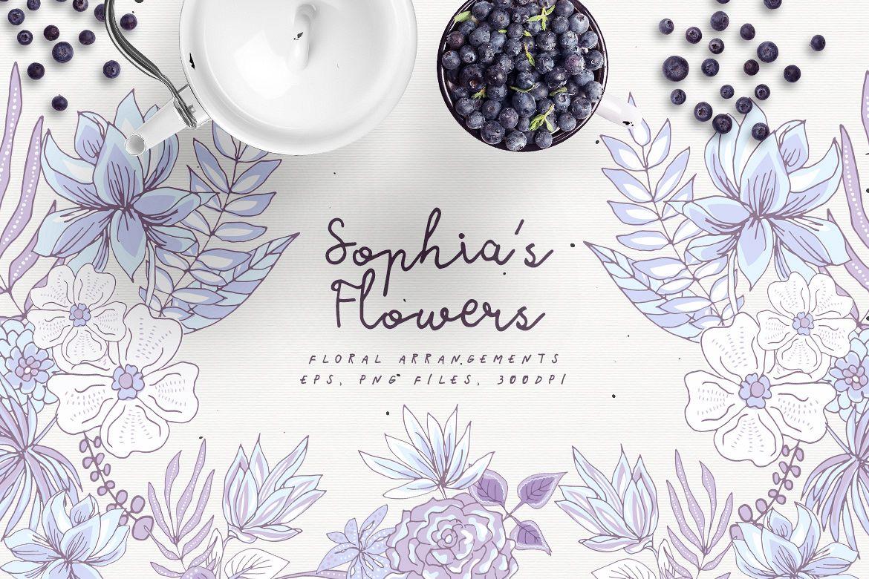 Sophia's Flowers example image 1