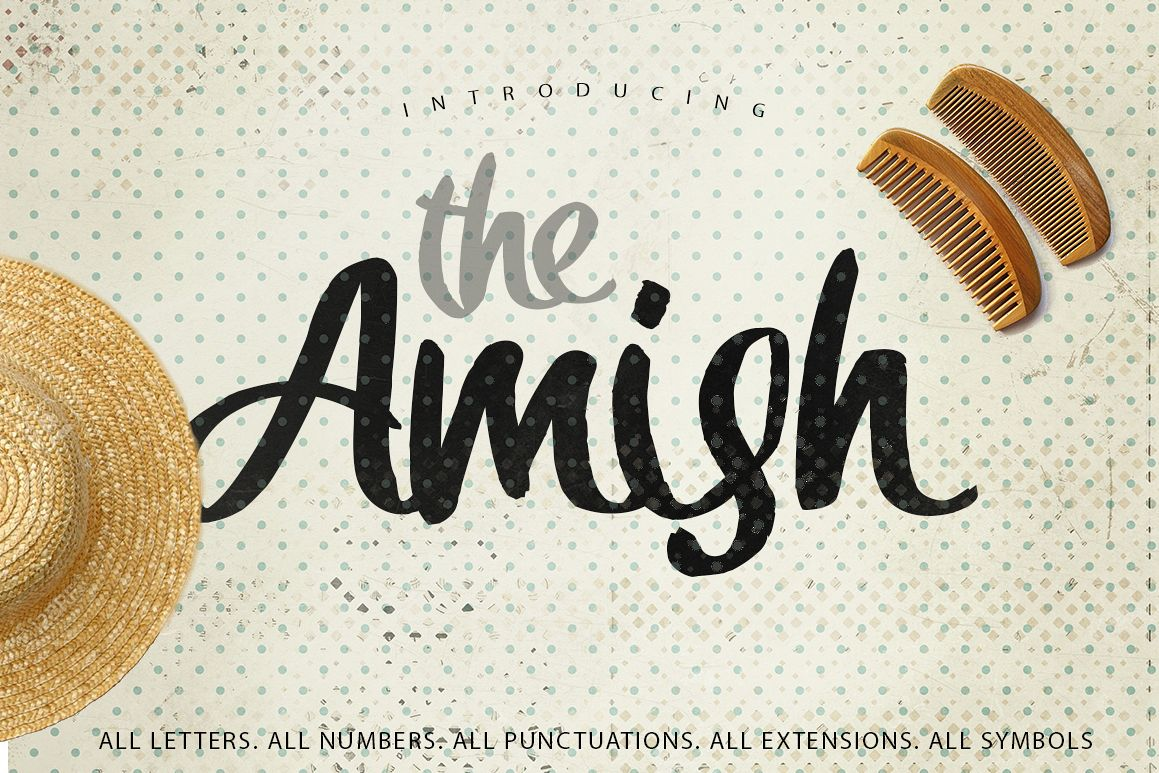 The Amish Typeface example image 1