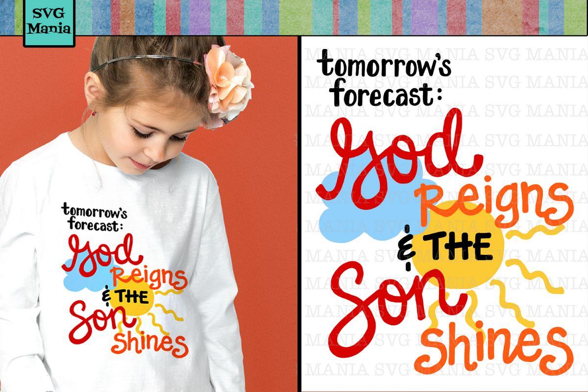 Kids Christian SVG File, Easter Shirt SVG, VBS SVG File, SVG example image 1