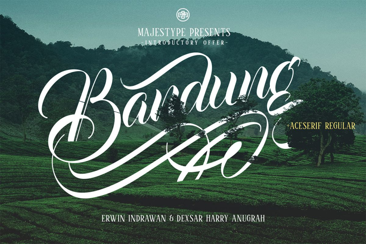 Bandung + Aceserif example image 1