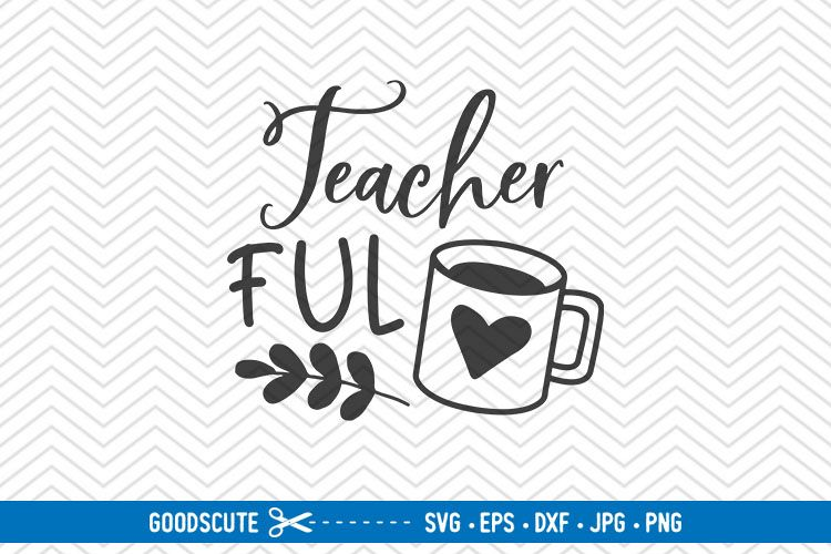Teacher Fuel - SVG EPS DXF PNG JPG example image 1