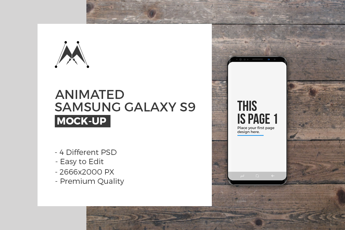 Animated Samsung Galaxy S9 example image 1
