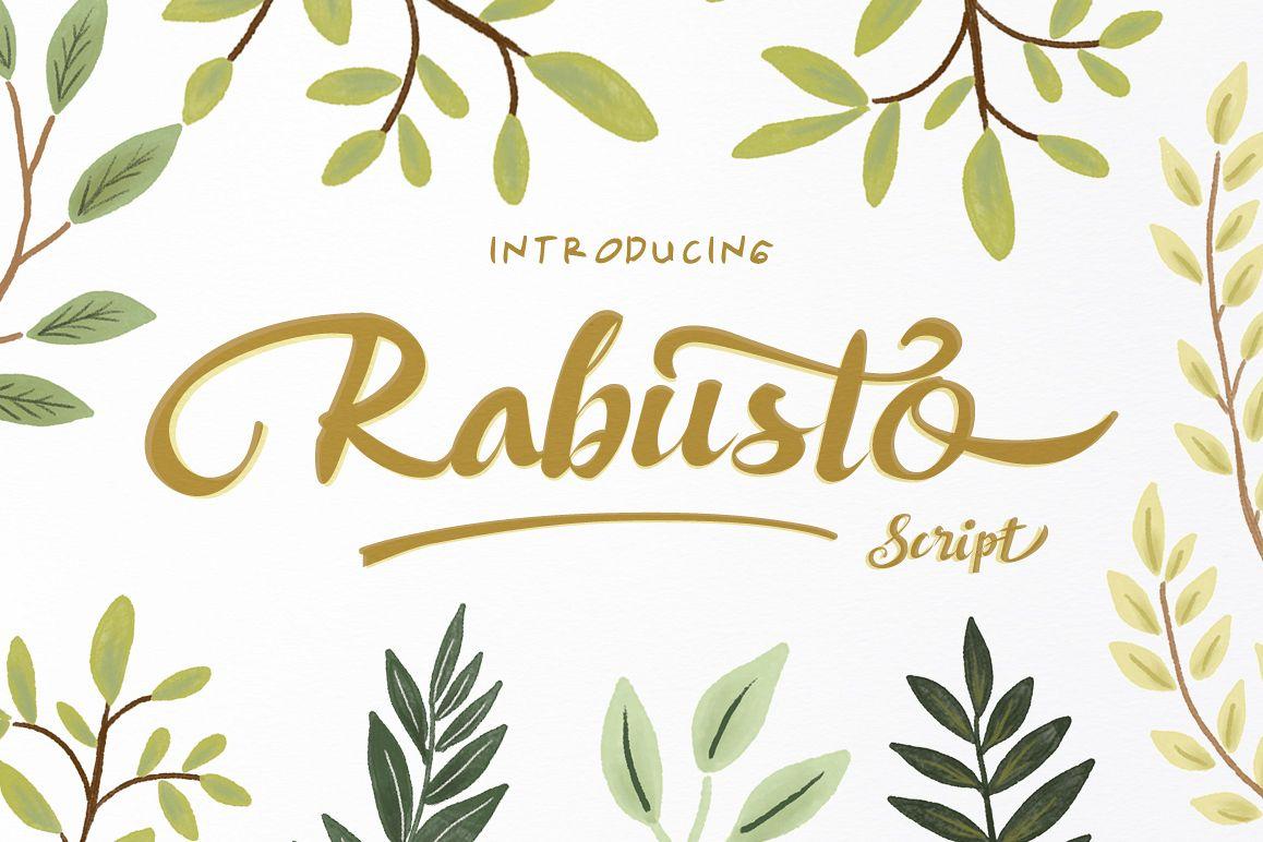 Rabusto Script example image 1