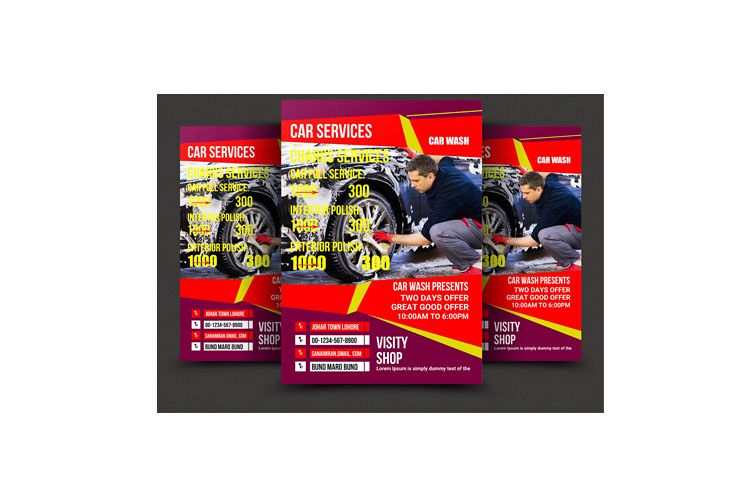 CAR SERVICES FLYER example image 1