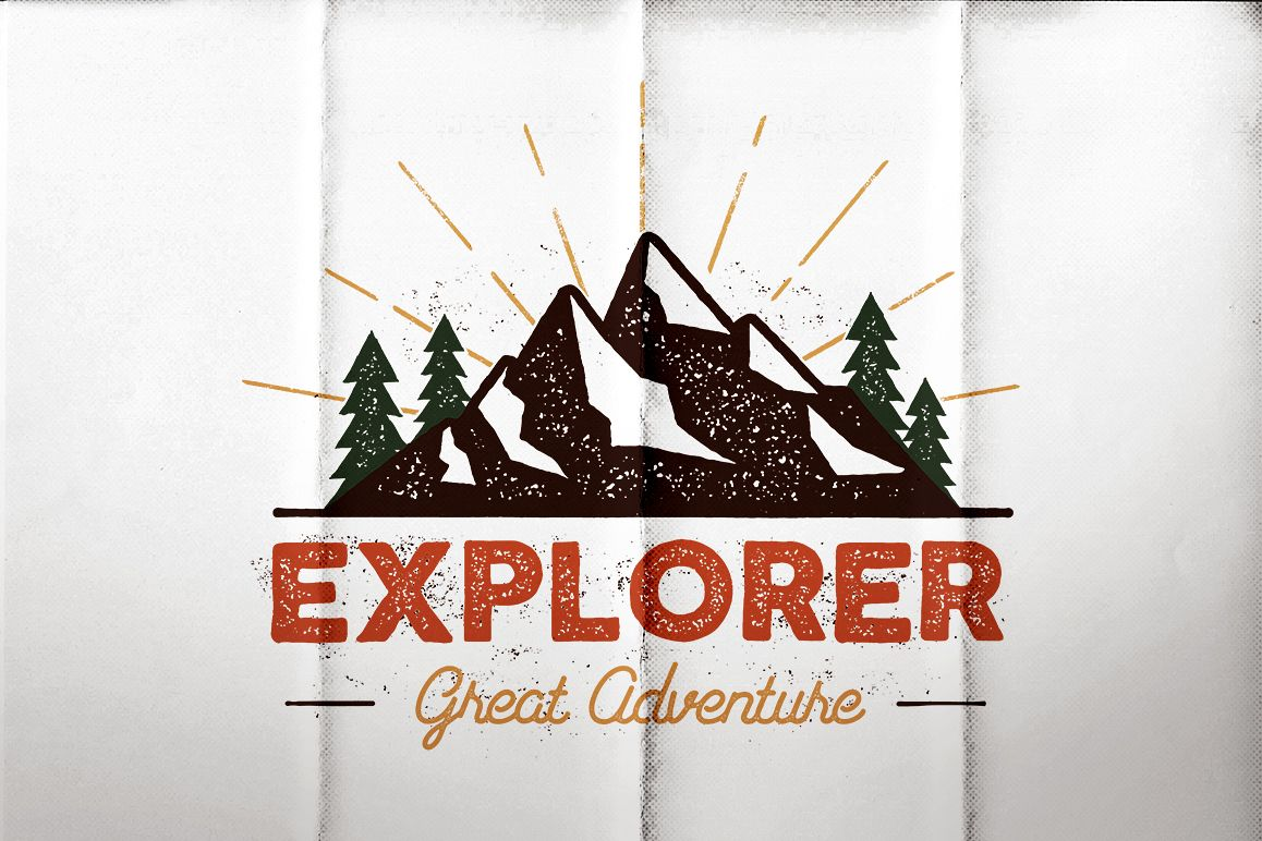 Outdoor Explorer Tee Design example image 1