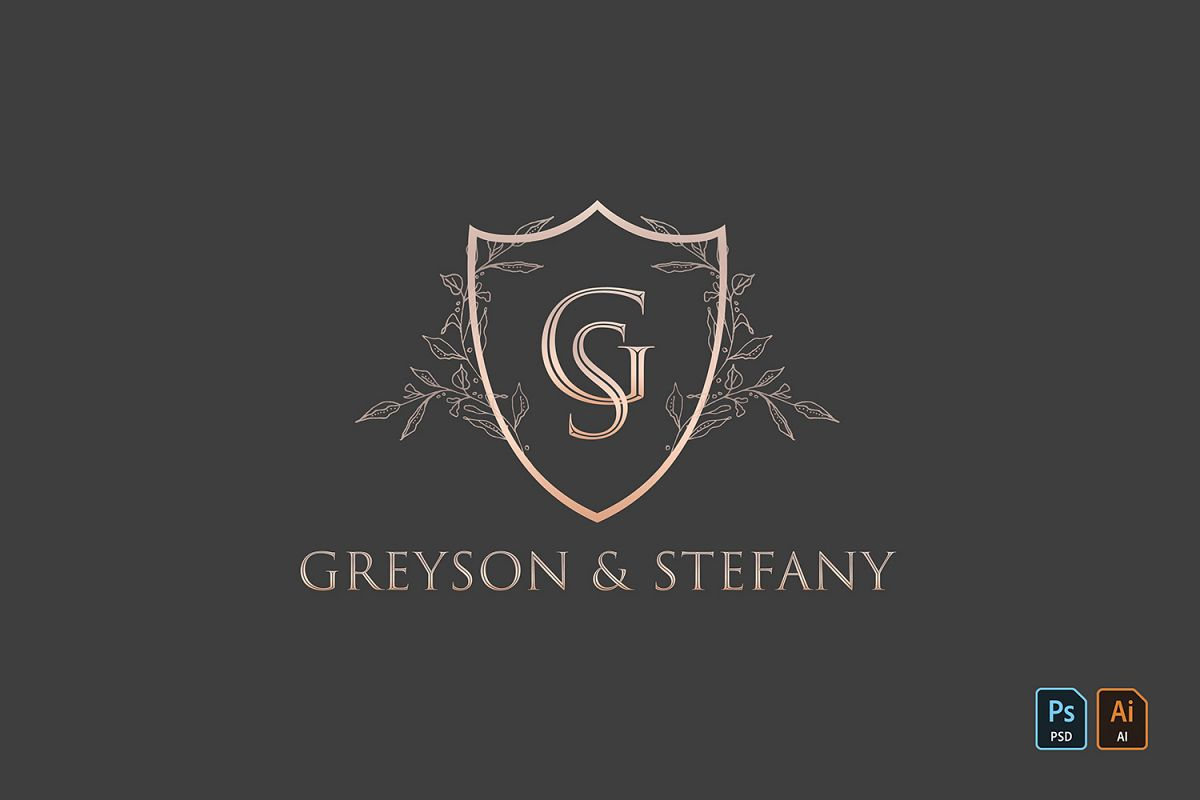 Luxury Wedding Logo example image 1