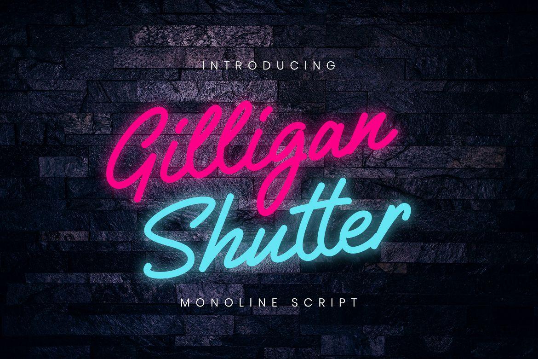 Gilligan Shutter Monoline example image 1